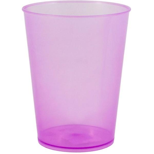 Стакан 350мл фиолетовый  (30/30) купить оптом и в розницу