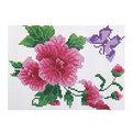 Набор для вышивания 26*20,5см Цветы MY8810 купить оптом и в розницу