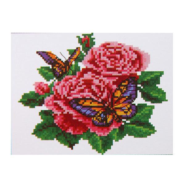 Набор для вышивания 26*20,5см Бабочки MY8826 купить оптом и в розницу