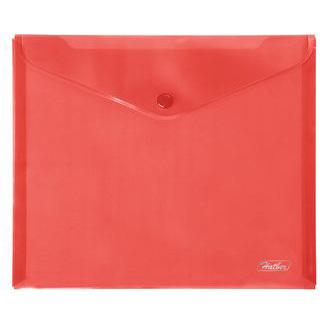 Папка-конверт А5 Красная 15103 Hatber купить оптом и в розницу