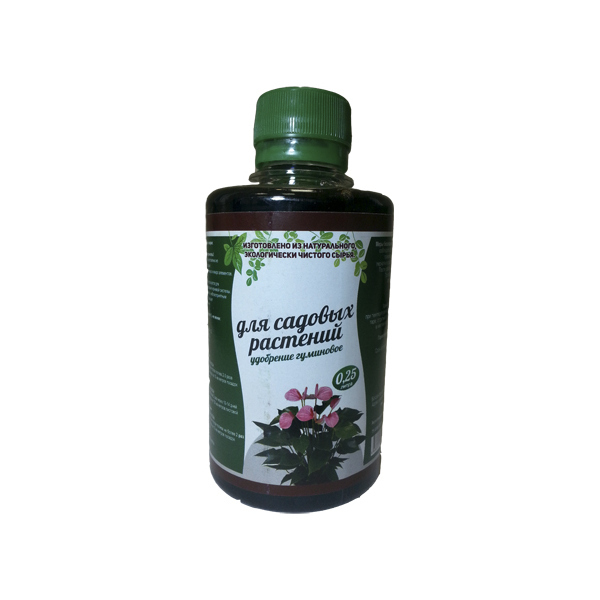 Удобрение гуминовое ″Для садовых растений″ 0,25л купить оптом и в розницу