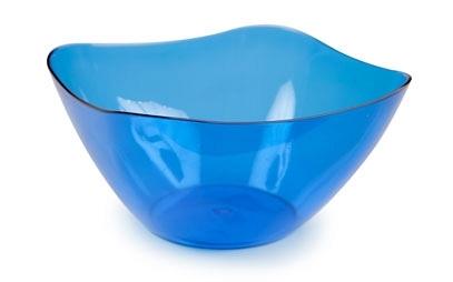 Салатник Ice 1л. (синий полупрозрачный) *44 купить оптом и в розницу