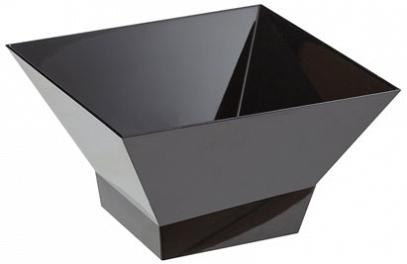 """Салатник """"Domino Kvadro"""" 1 л (черный) *28 купить оптом и в розницу"""