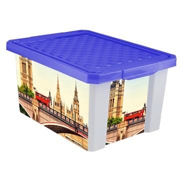 """Ящик дляхранения """"X-BOX"""" Англия 17л*12 купить оптом и в розницу"""