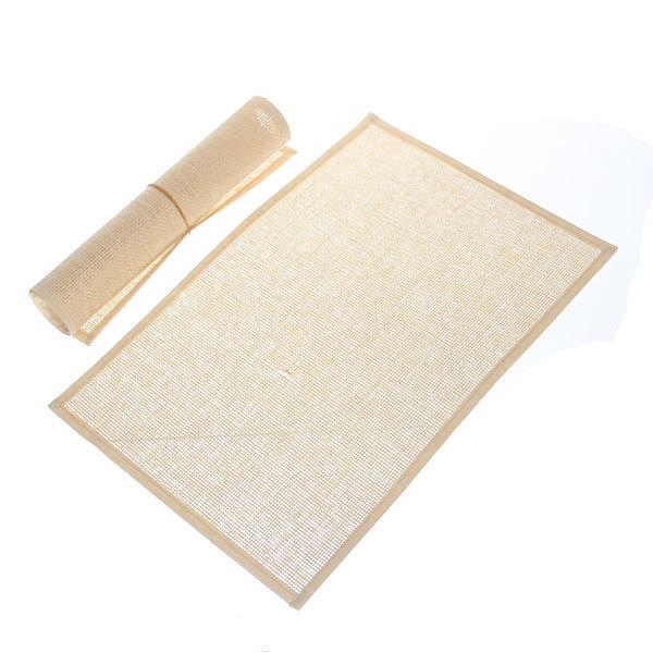 Салфетка на стол 30*45см плетеная, с кантом 29-4 две штуки купить оптом и в розницу