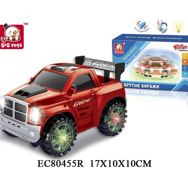 Машина на бат. 80455ECR в кор. купить оптом и в розницу