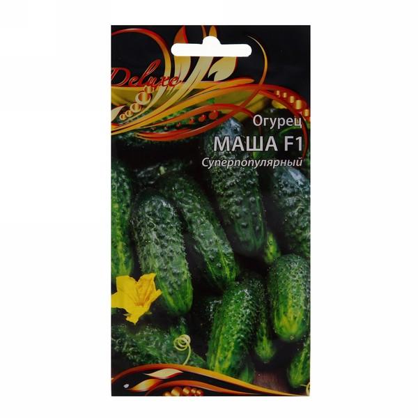 Семена Огурец Маша (цветной пакет) 0,25гр 8шт купить оптом и в розницу