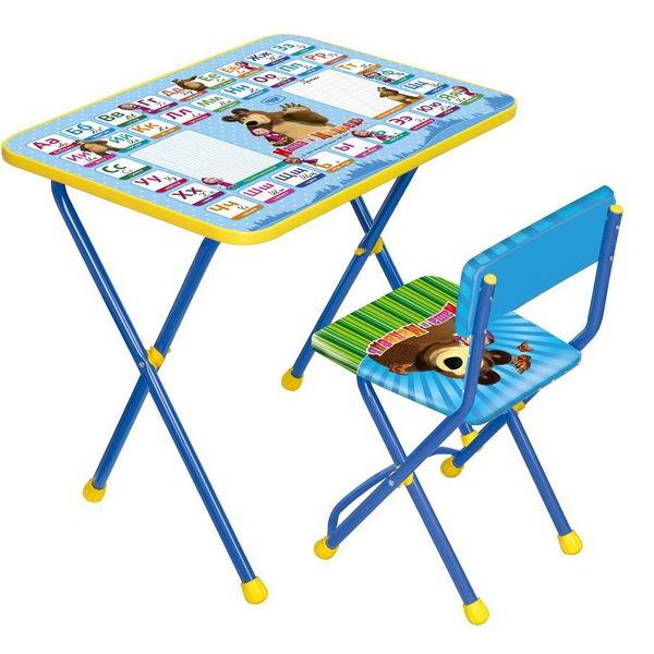 Набор детской мебели ″Маша и медведь.Азбука-2″ складной, мягкий стул КП2/2 купить оптом и в розницу