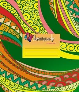 """Тетрадь 48л.кл.скрепка КТС, """"Бразильские узоры"""", сплошной Уф-лак купить оптом и в розницу"""