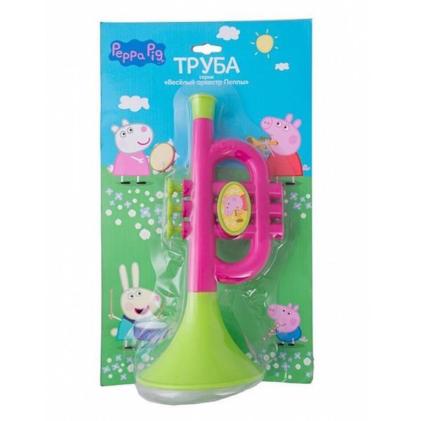 Peppa Pig Труба на блистере 30571 купить оптом и в розницу