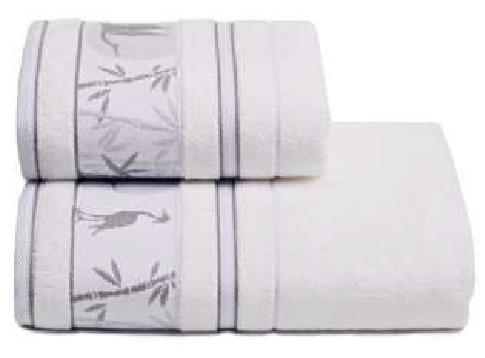 ПЦ-2667-1758-4 полотенце 50х90 махр г/к Bamboo forest цв.101 купить оптом и в розницу