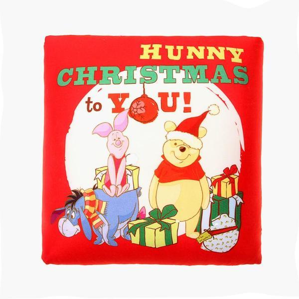Подушка декоративная 30*30см ″Сладкого Рождества от Винни и его друзей″ купить оптом и в розницу