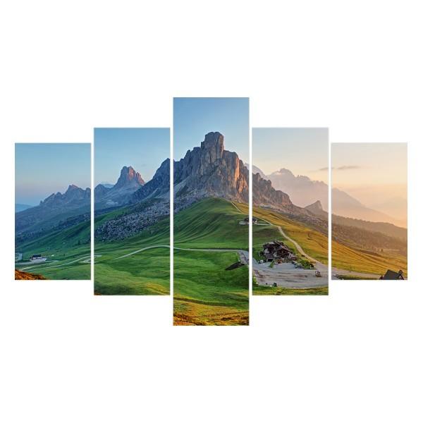 Картина модульная полиптих 75*130 Природа диз.18 50-02 купить оптом и в розницу