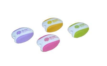 Точилка пласт.YIWU одинарн. двухцветн. ассорти купить оптом и в розницу