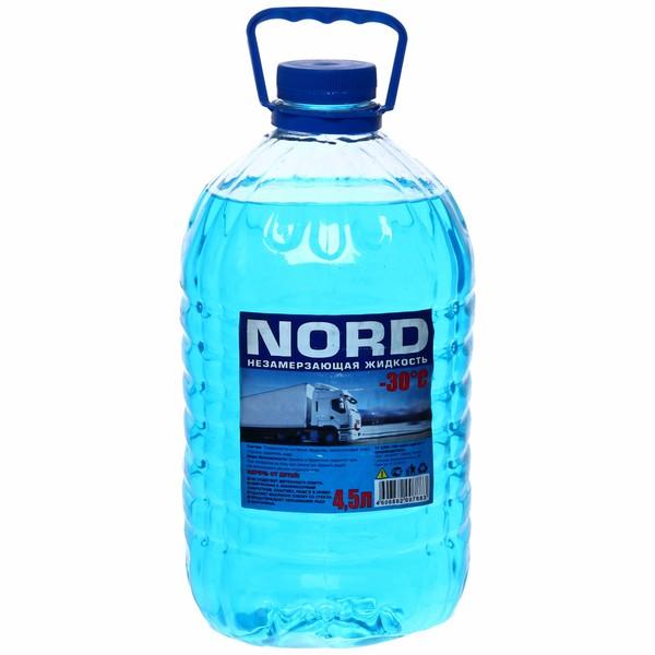 Жидкость незамерзающая для стеклоочистителя 4,5 л. ″NORD″-30С купить оптом и в розницу