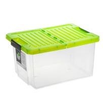 Ящик дляхранения Unibox 17л зеленый прозрачный *12 купить оптом и в розницу