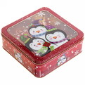 Набор банок жестяных 3шт ″Новогодние″ (400,700,1200мл) купить оптом и в розницу