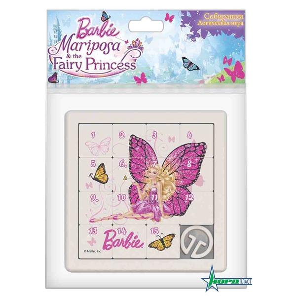 Логич.игрушка Собирашки 847  Барби: Бабочка роз Норд /18/ купить оптом и в розницу