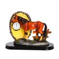 Статуэтка ″Лошадь ″ с часами 13*18см 9008 купить оптом и в розницу