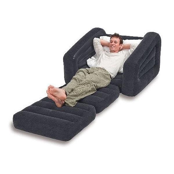 Кресло-кровать надувное Pull-Out Chair 109*218*66 см, Intex (68565) купить оптом и в розницу