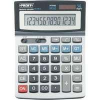 Калькулятор PROFF настольный 14раз с метал.панелью 196*144*51мм купить оптом и в розницу