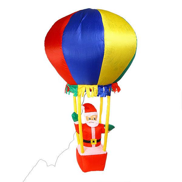 Фигура надувная ″Дед Мороз на воздушном шаре″ 1,8м купить оптом и в розницу