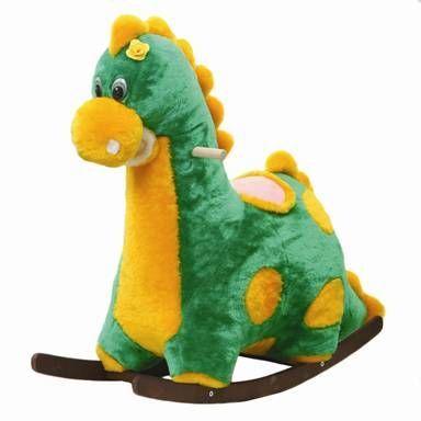 Качалка 103А Динозаврик муз. купить оптом и в розницу
