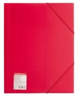 Папка на резинке Erich Krause красная 0,40мм купить оптом и в розницу