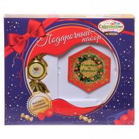 Набор магнит и елочная игрушка-конфетка ″Радости в Новом году!″, Апельсиновый праздник купить оптом и в розницу