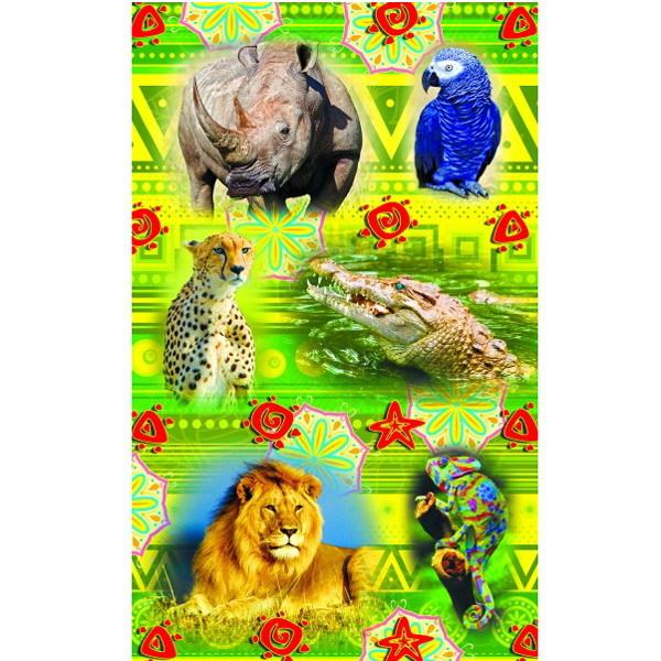 Наклейки Африканские животные 1913 /Квадра/ купить оптом и в розницу