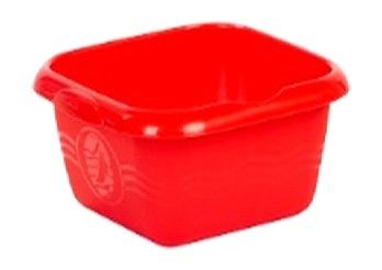 Таз для пищевых продуктов 10л  красный 360 х 330 х 135 купить оптом и в розницу
