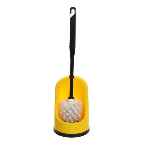 Ерш для туалета 39 см 2109 желтый купить оптом и в розницу
