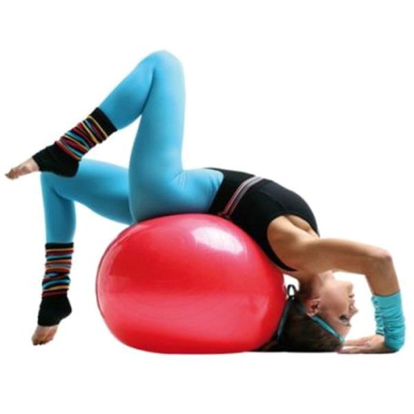 Мяч гимнастический Sportage 75 см с насосом купить оптом и в розницу