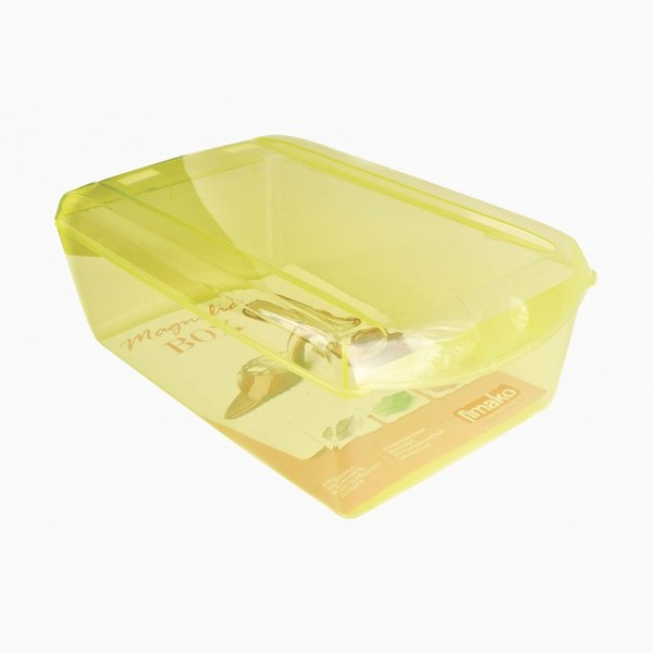 Ящик для хранения обуви желтый  360 x 210 x 128 купить оптом и в розницу