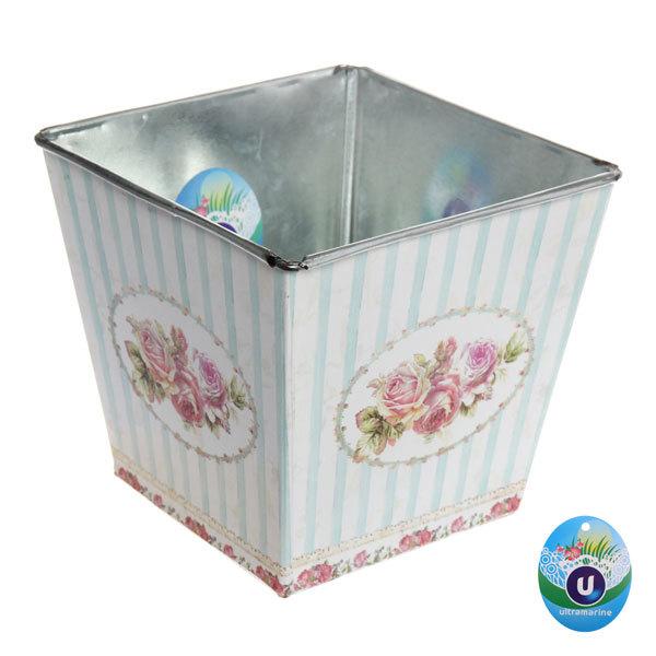 Кашпо для цветов ″Розы″ 15,5х14,5см 13-1237 купить оптом и в розницу