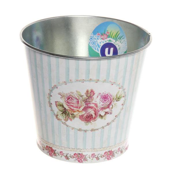 Кашпо для цветов ″Розы″ 13х11,5см 13-1299 купить оптом и в розницу