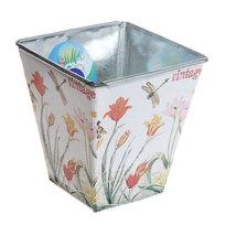 Кашпо для цветов ″Тюльпаны″ 10,5х11,5см 13-1237 купить оптом и в розницу