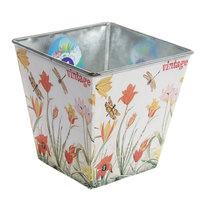 Кашпо для цветов ″Тюльпаны″ 13х13см 13-1237 купить оптом и в розницу