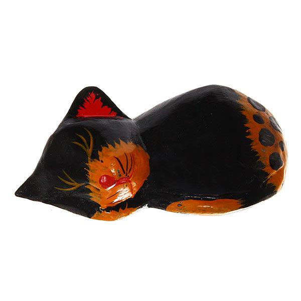 Фигурки из дерева ″Кошки спящие 3шт″, 15см, албезия купить оптом и в розницу