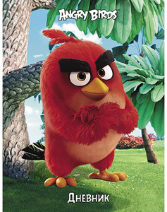 """Дневник универсал.тв.обл.HATBER, """"Angry Birds"""" купить оптом и в розницу"""
