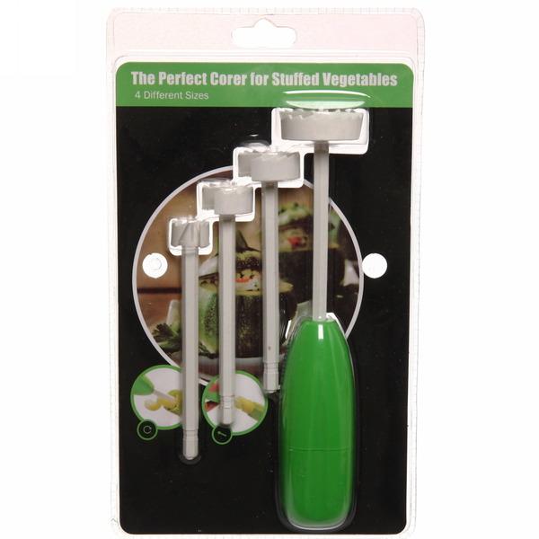 Прибор для удаления сердцевины овощей в наборе 4 шт купить оптом и в розницу