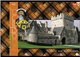 """Альбом д/рис.А4 40л, HATBER, """"Шотландка с замками"""" купить оптом и в розницу"""