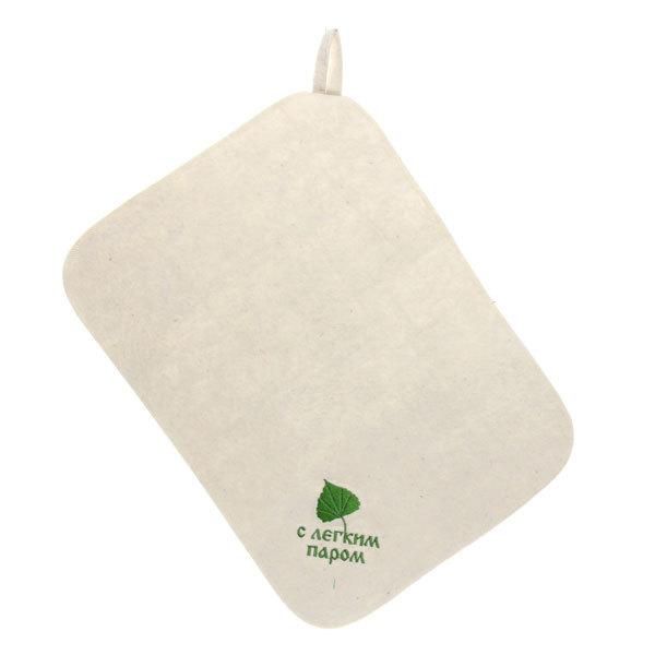Коврик 100% шерсть белый С легким паром вышивка купить оптом и в розницу