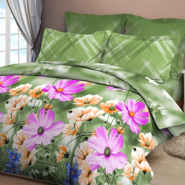 Евро бязь 3D Орхидея 4169/1 купить оптом и в розницу