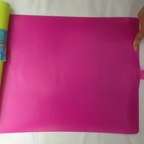 Доска разделочная пластиковая гибкая складная 32*45см Фуксия купить оптом и в розницу