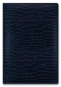 Ежедневник б/дат А5 Berlingo 176л Dedalo croco, синий,тонир.блок купить оптом и в розницу