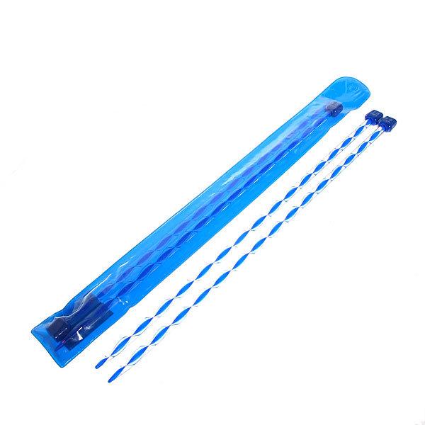 Спицы вязальные прямые акриловые 7мм 34см цветные купить оптом и в розницу