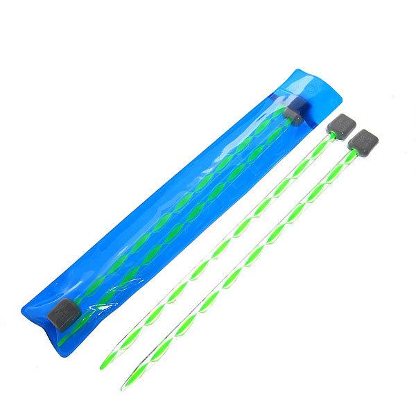 Спицы вязальные прямые акриловые 6мм 20см цветные купить оптом и в розницу