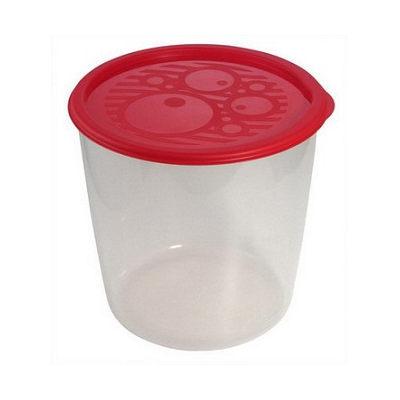 Контейнер пластиковый пищевой №1, 0,55л круглый высокий многофункциональный С259 купить оптом и в розницу