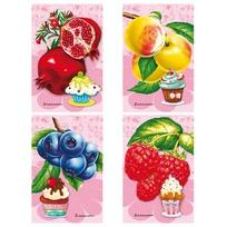 Блокнот 48 л. А7 Яркие фрукты Б48-4437 купить оптом и в розницу